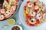 Fixed on Fresh - Healthy weeknight dinner, Lemon Pepper Shrimp Skillet