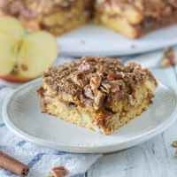 Paleo Apple Cinnamon Coffee  Cake