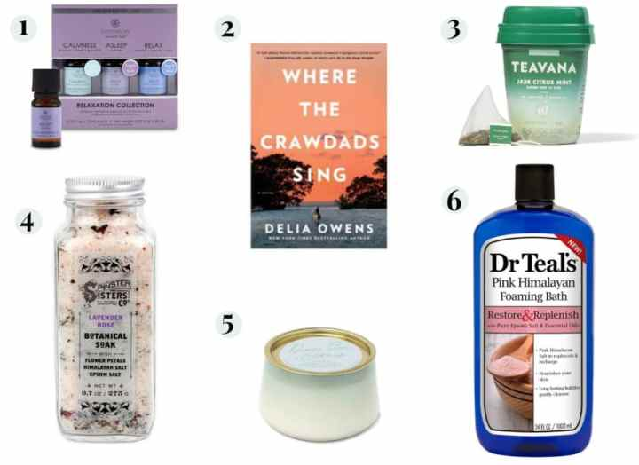 Relaxing gifts for Mother's Day