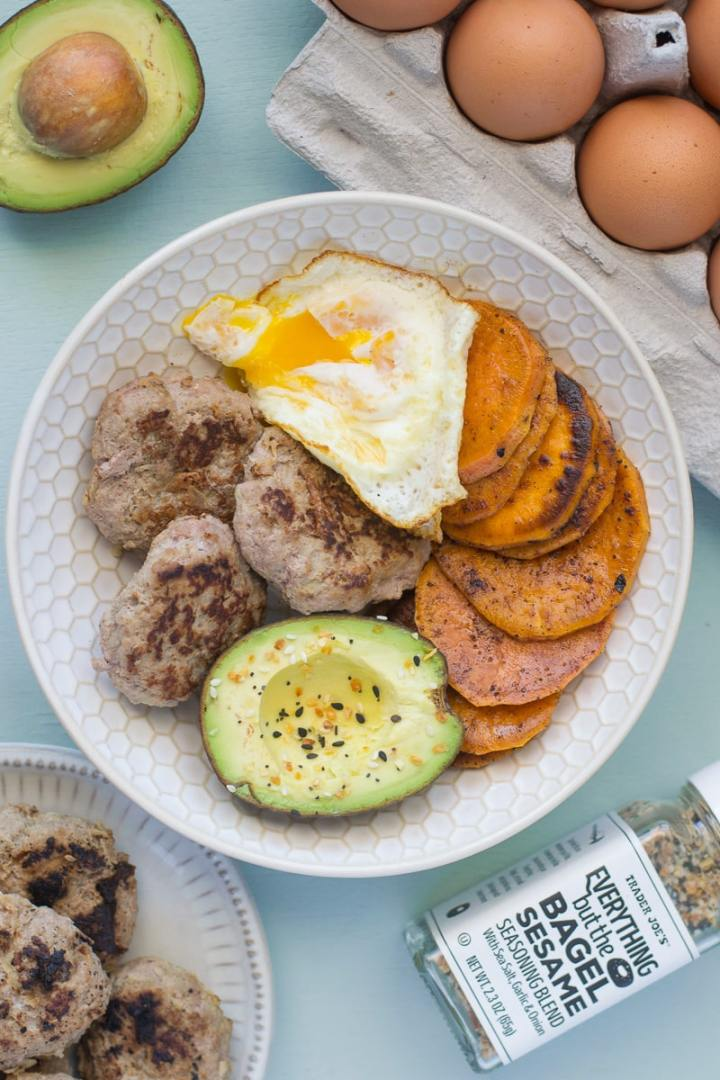 Whole30 and Paleo approved turkey breakfast sausage is simple to make with only 3 ingredients. These homemade sausages are budget friendly and healthy.