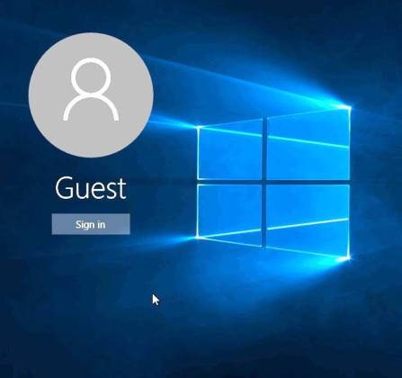 Provide a password or add guest user that we can test your surface pro after repair