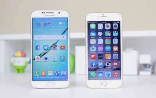 Android vs iOS - never ending battle