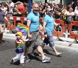 gay rights fathers with child