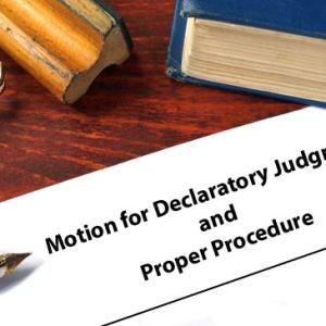 Proper Procedure Motion