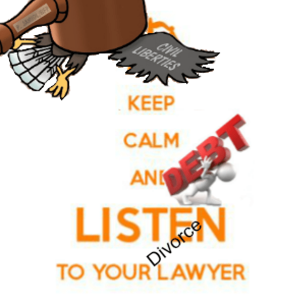 Keep Calm and Listen to Your Divorce Attorney