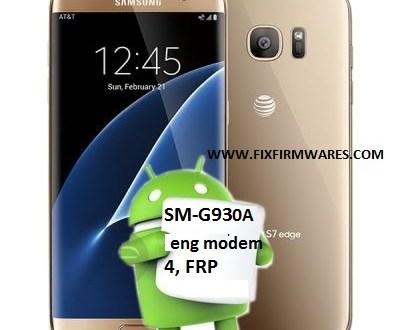 SM-G930A Galaxy S7 Bypass FRP ENG Sboot Download