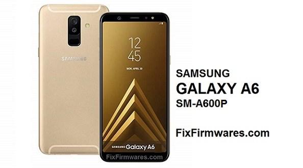 Samsung Galaxy A6   SM-A600P Combination