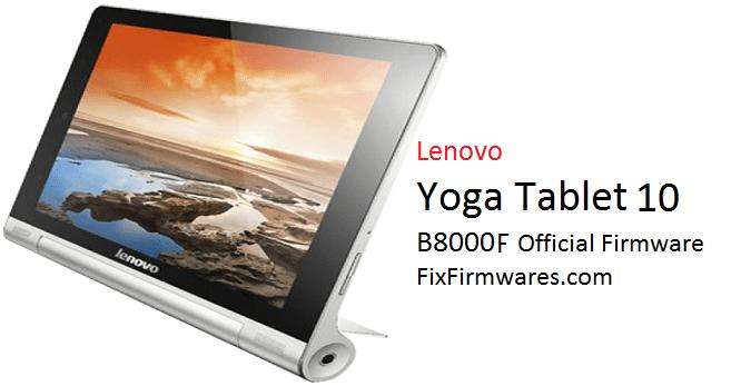 Lenovo Yoga Tablet 10 B8000F