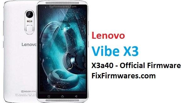 lenovo vibe x3 software update