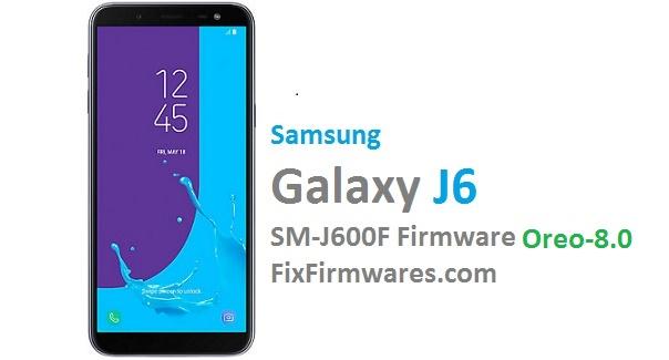 Samsung Official Firmware - SM-J600F 4-File Repair Firmware