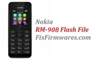 Nokia 105 RM-908 Flash File