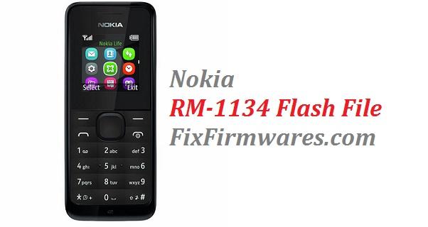 Nokia Firmware File | Nokia 105 RM-1134 Latest (v-15 00