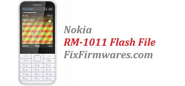 Nokia Firmware File | Nokia RM-1011 (Factory Flash File)