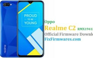 Oppo Realme C2, Realme C2, RMX1941EX