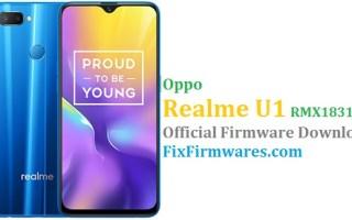 Oppo RealmeU1, Realme U1,RMX1831EX,