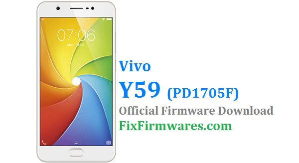 Vivo Y69 Firmware (PD1705F) Download Free | Fix-Firmwares