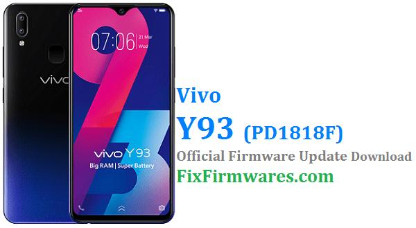 Vivo Y93 Firmware PD1818F - Vivo Flash File | Download Free