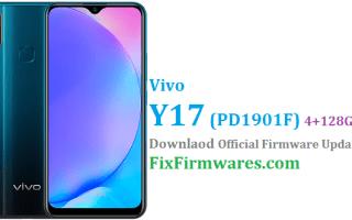 Vivo Y17,Vivo Y17 Firmware, PD1901F