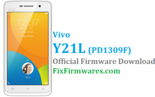 Vivo Y21L Firmware, PD1309F