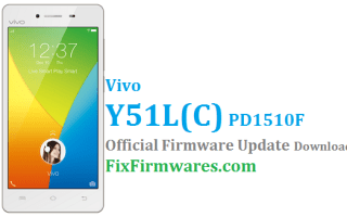 Vivo Y51 Firmware,PD1510F, Vivo Global Firmware