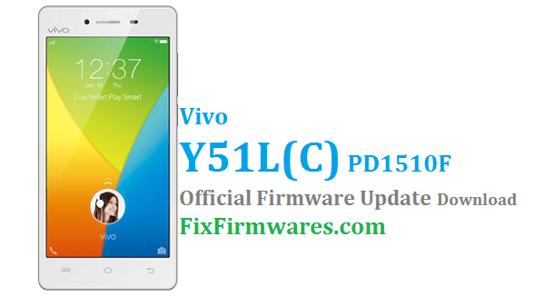 Vivo Y51 Firmware,PD1510F, Vivo Global Firmware