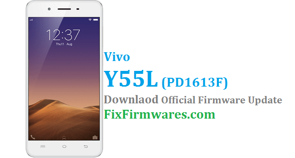 Vivo Y55L Flash File - PD1613F | Vivo Global Firmware