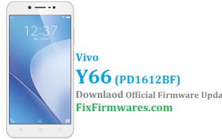 Vivo Y66 Firmware ,PD1612BF, Vivo Y66,