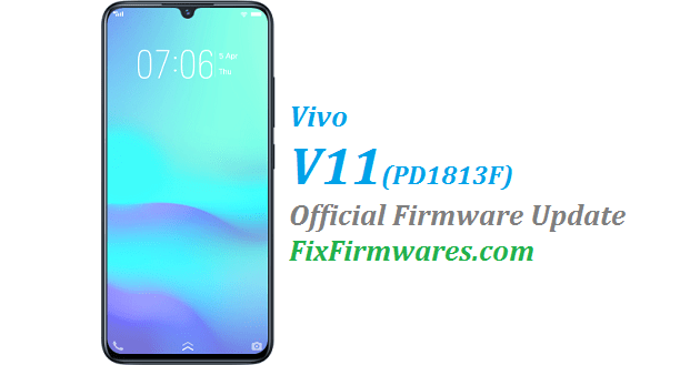 Vivo V11,PD1813F