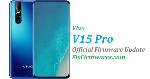 Vivo V15 Pro, PD1832F