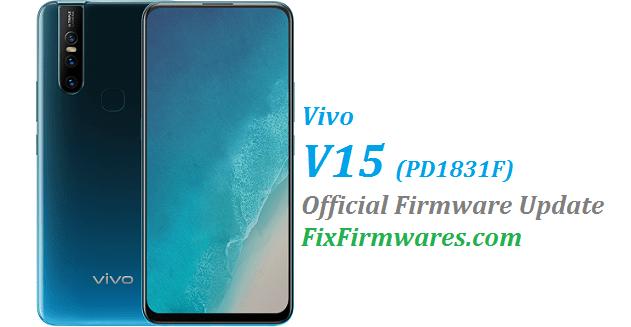 Vivo V15 Firmware (1831) PD1831F | Fix Firmwares