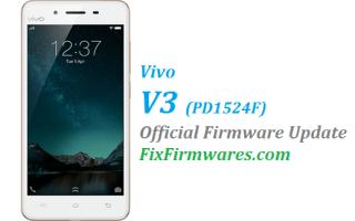 Vivo V3,Vivo V3 Firmware ,PD1524F