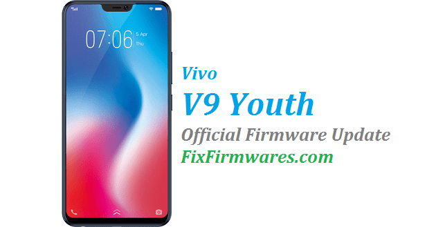 Vivo V9 Youth Firmware (1730BF) PD1730BF | Fix Firmwares
