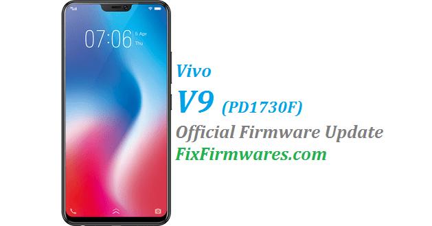 Vivo V9,PD1730F