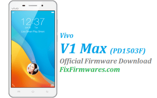 Vivo V1 Max, PD1503F