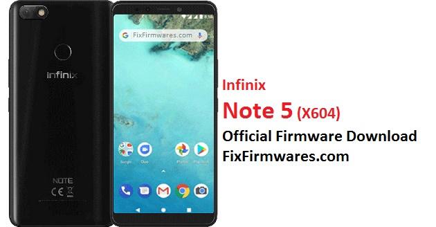 Infinix Note 5, X604