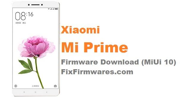 Xiaomi Mi Prime