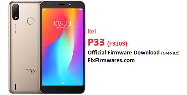 itel p33, F3103