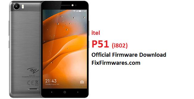 Itel P51, i802
