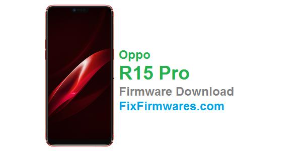 Oppo R15r Pro (CPH1831) Oppo Firmware