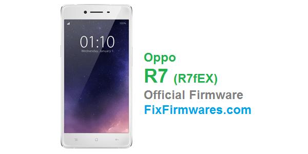 Oppo R7 (R7fEX) Oppo Firmware