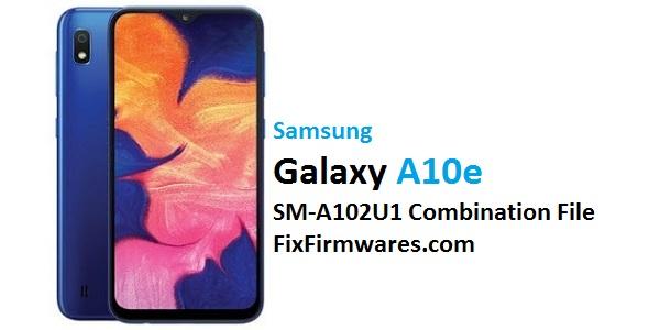 Samsung Galaxy A10e SM-A102U1 Combination File