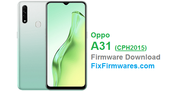 Oppo A31 (CPH2015) Firmware