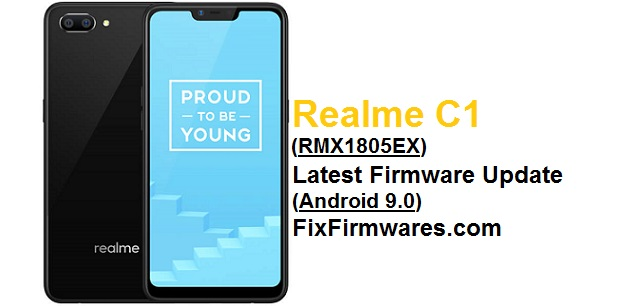 Realme C1 (RMX1805) Latest Firmware Update (Android 9.0)