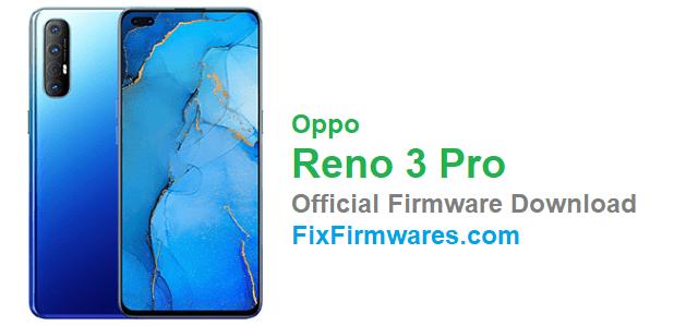 Oppo Reno 3 Pro Firmware