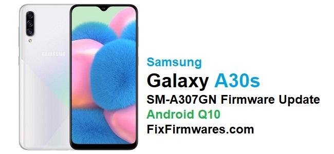 SM-A307GN Firmware Update