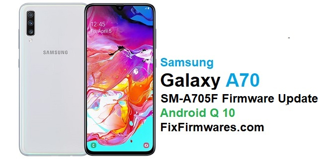 SM-A705F Android 10 Firmware Update