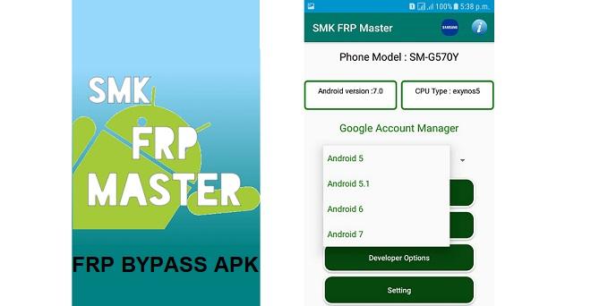 SMK FRP Master FRP Bypass APK