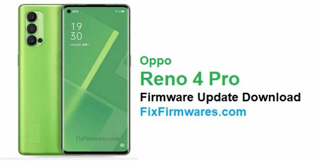 Oppo Reno 4 Pro Firmware
