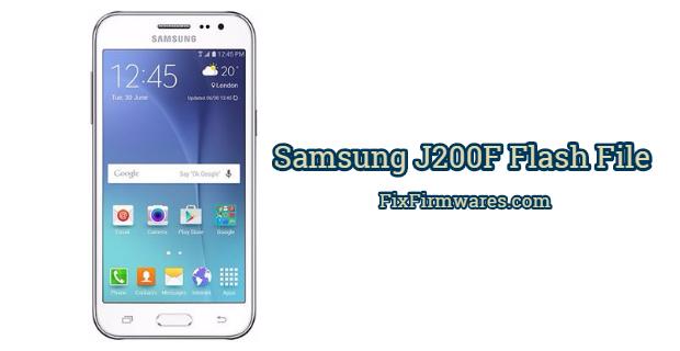 Samsung J200F Flash File