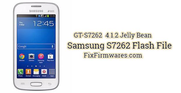 Samsung S7262 Flash File
